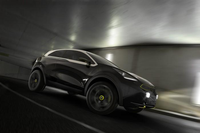 Kia DE возьмет у Kia Niro элементы дизайна  и аналог своего гибридного двигателя