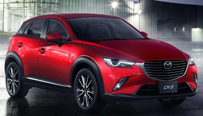 новый компактный кроссовер Mazda CX-3 фото