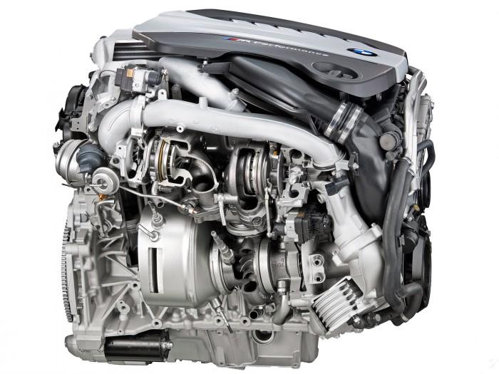 Дизельный двигатель тестируемого BMW X6