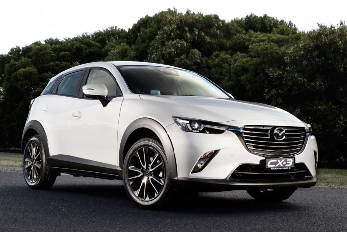 Новая Mazda CX-3 будет комплектоваться дизельным двигателем или бензиновым двигателем