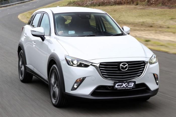 Автомобиль класса SUV Mazda CX-3