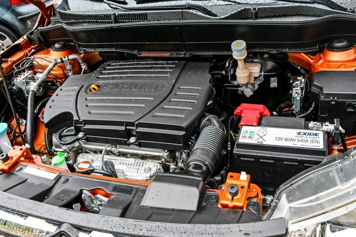 Бензиновый двигатель нового кроссовера