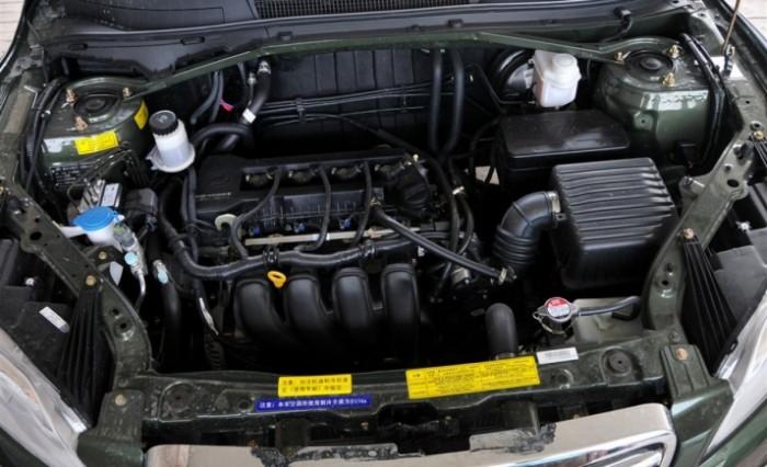 Бензиновый двигатель нового кроссовера Lifan X60