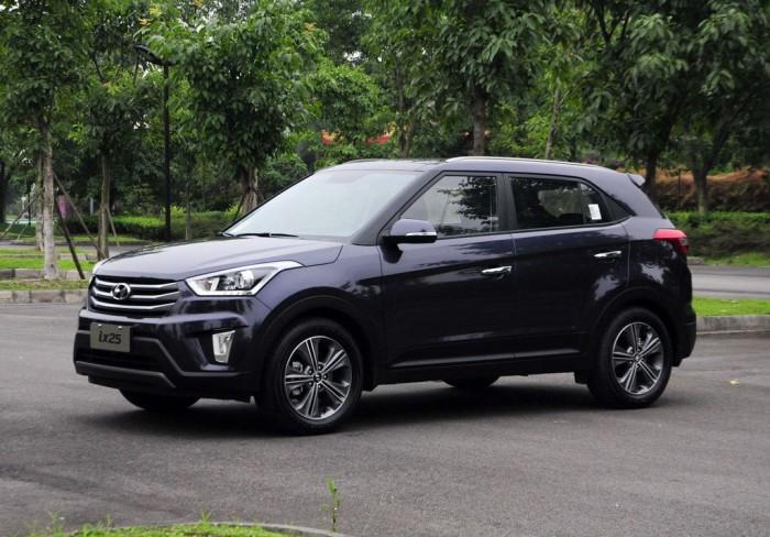 Hyundai ix25 во всей своей красе