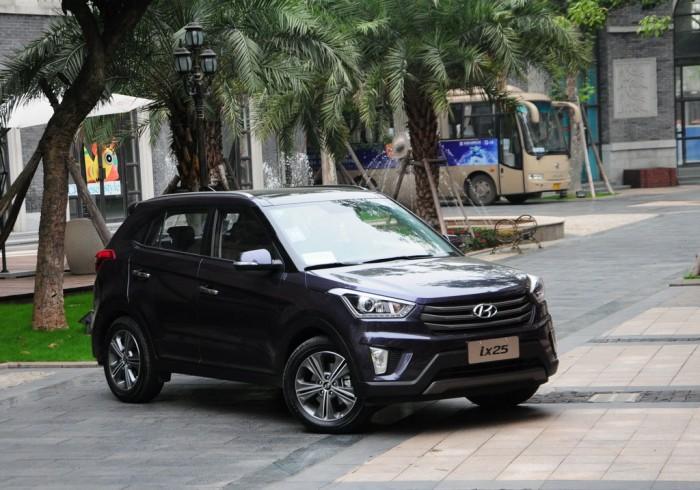 В новом Hyundai ix25 широко представлены системы безопасности