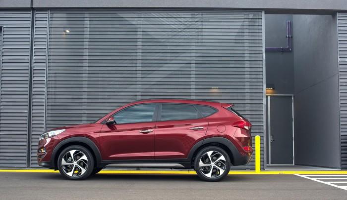 Hyundai Tucson 2016 - это мощный стильный автомобиль