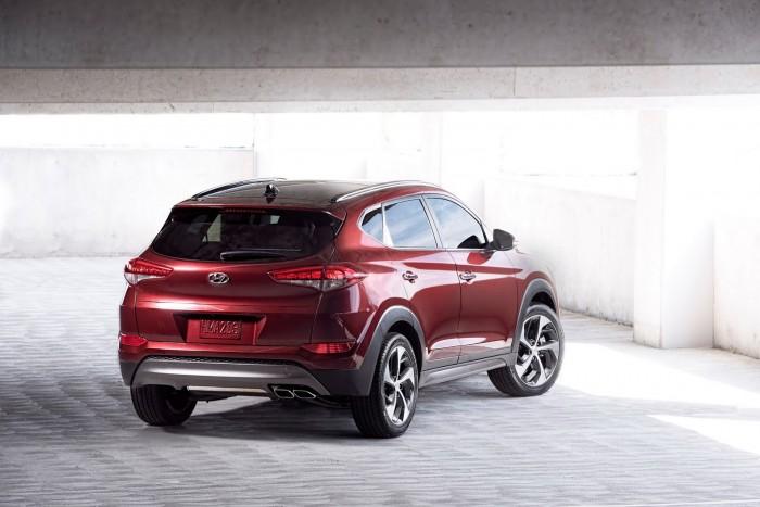 Новый кроссовер Hyundai Tucson прекрасно рулится