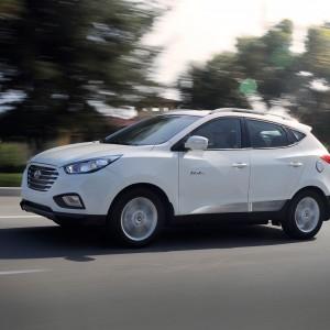 Hyundai Tucson Fuel Cell белый