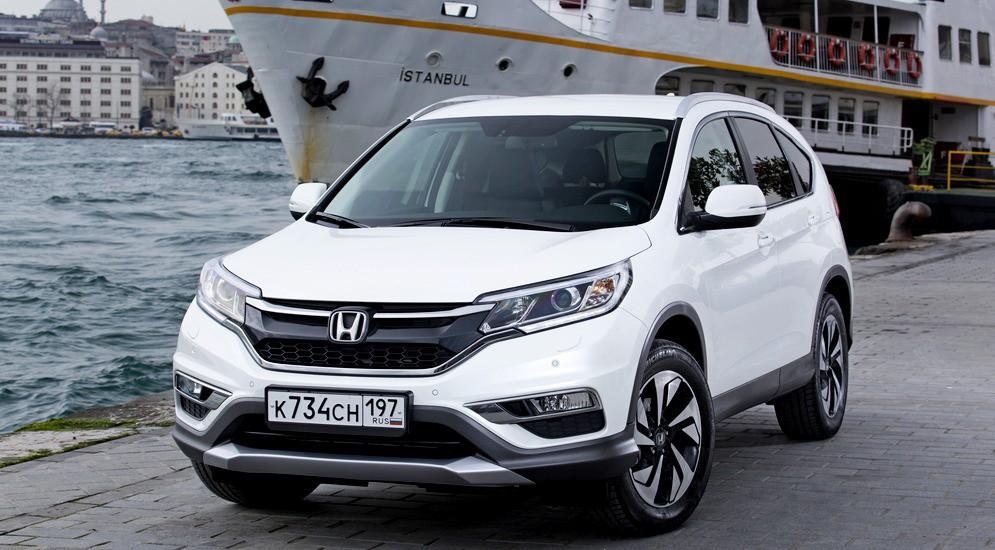 Новый кроссовер Honda CR-V с улучшенными техническими характеристиками