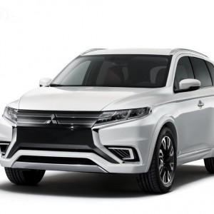 Новый кроссовер Mitsubishi Outlander 2015