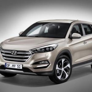 Новый кроссовер Hyundai Tucson 2016 модельного ряда