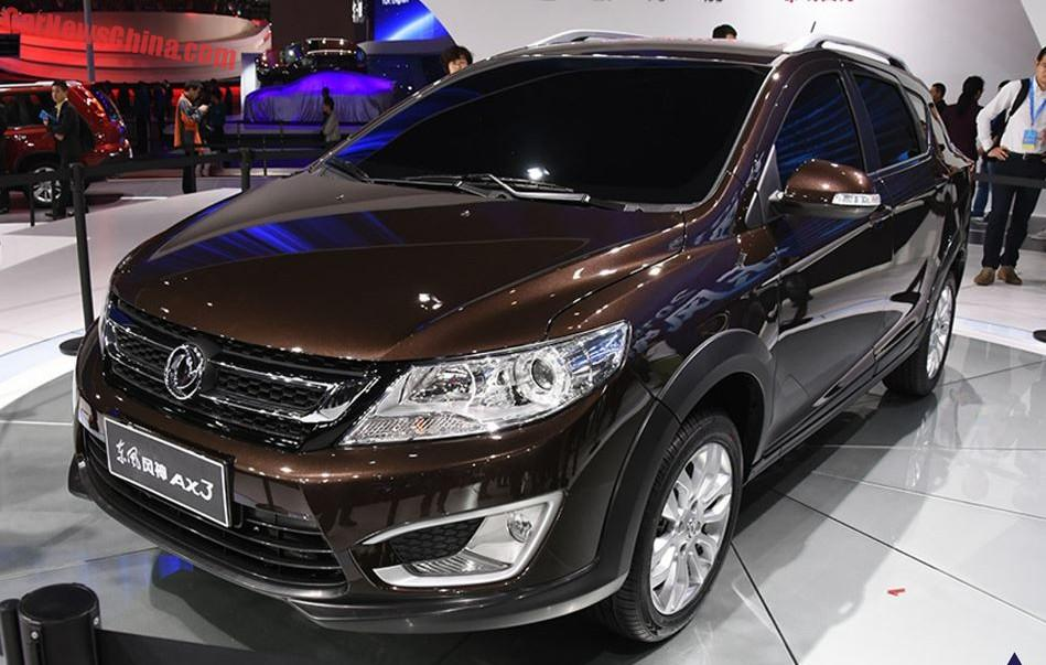 Кроссовер Dongfeng AX3