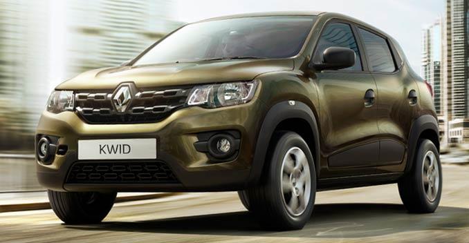 Renault KWID на дороге