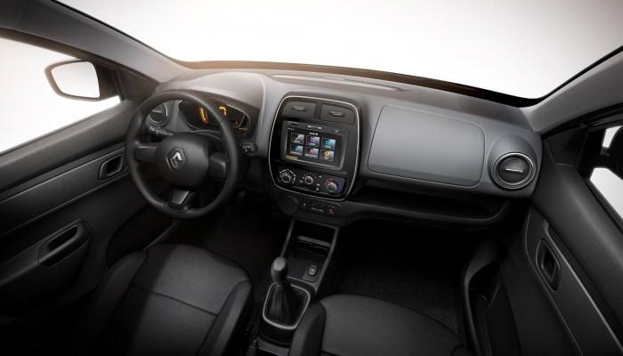 Салон Renault KWID, вид передних сидений