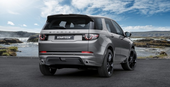 Land Rover Discovery Sport от Startech, вид сзади
