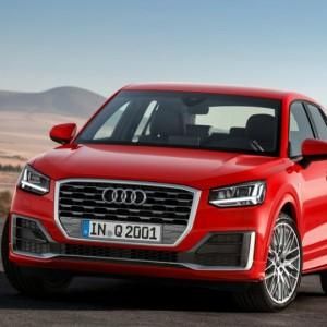 Audi Q2, вид спереди